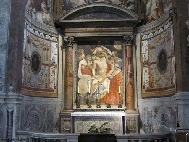 Salviati, 5 cappella dei Margravi di Brandeburgo in Santa Maria dell'Anima