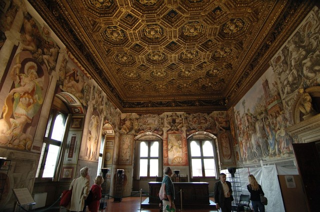 Salviati, 2 Sala dell'UDIENZA 1543-45