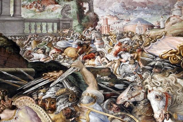 Salviati, 3 Sala dell'UDIENZA 1543-45