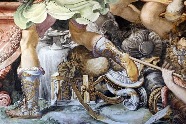 Salviati, 5 Sala dell'UDIENZA 1543-45