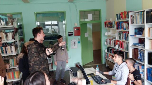 Επεξεργασία του βίντεο-παρουσίασης του σχολείου μας
