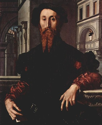 Bronzino,Bartolomeo Panciatichi,1540 circa, olio su tavola,Uffizi