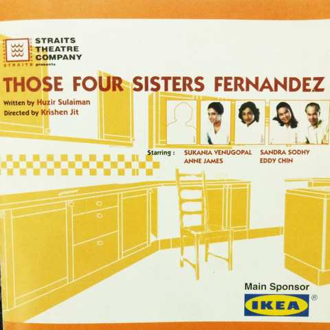 PLAY: Those Four Sisters Fernandez by Huzir Sulaiman