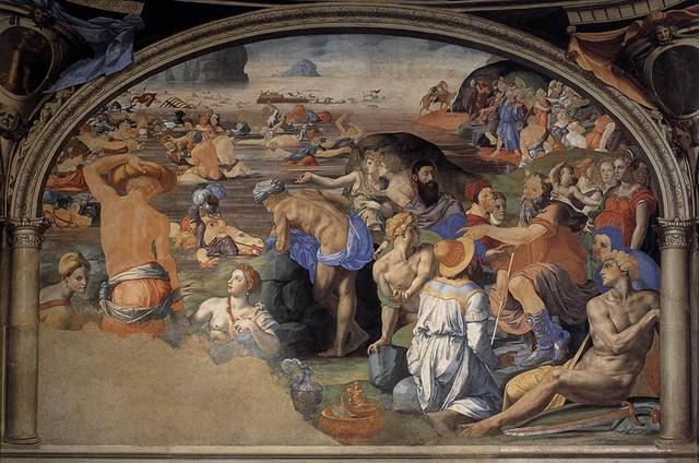 Bronzino,Cappella di Eleonora,Passaggio Mar Rosso