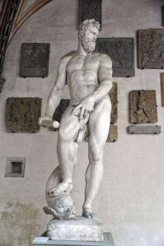 Giambologna,Oceano,1572-76,Bargello
