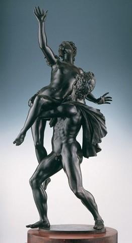 Giambologna,Ratto della sabina,bronzo,1579,Capodimonte,99cm