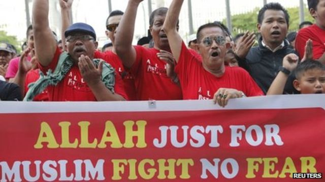 """14 October 2013: Court rules non-Muslim cannot use """"Allah"""" to refer to God"""