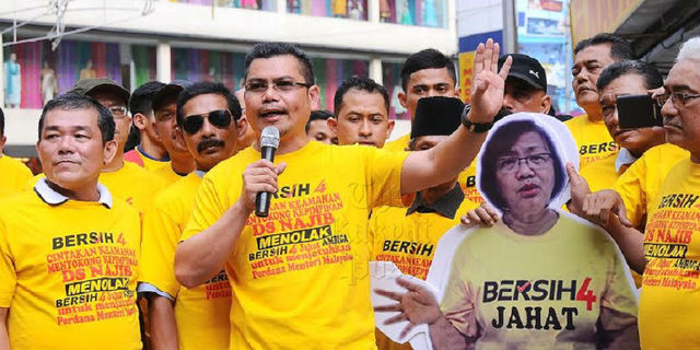 August 2015: Bersih 4.0 Rally