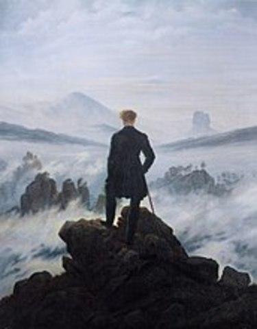 El caminant  damunt un mar de boira.- Frieddrich
