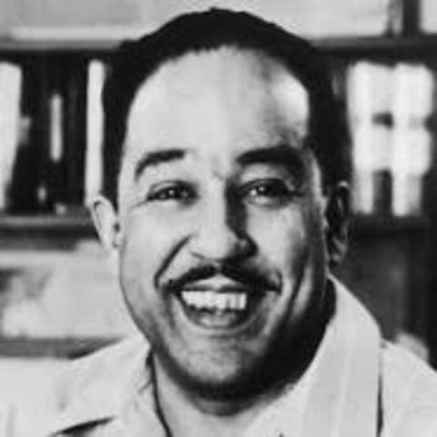 Langston Hughes publishes his first set of poems