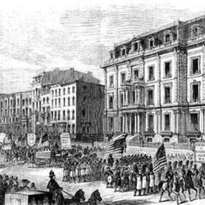 The Rise and Fall of Reconstruction timeline