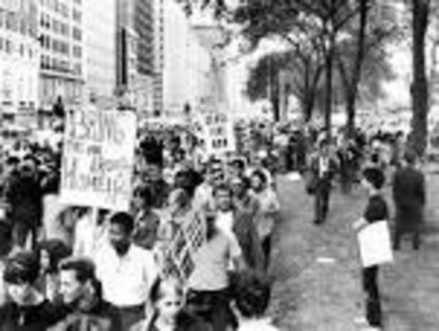 Riots of Democratic convention