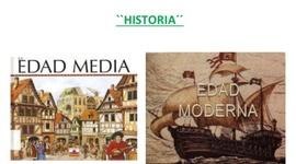 La Edad Media y la Edad Moderna en Canarias timeline