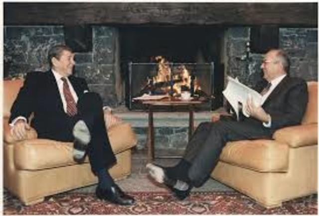 Geneva Conference with Gorbachev
