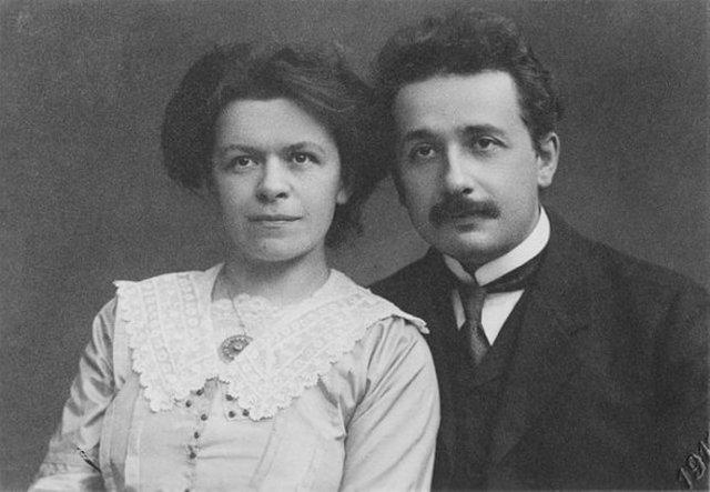 Einstein Marries His First Wife