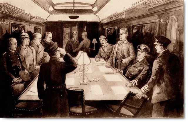 WWI Armistice Signed