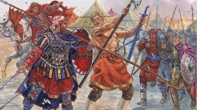 Ο Βασίλειος Β' νικά τους Βούλγαρους