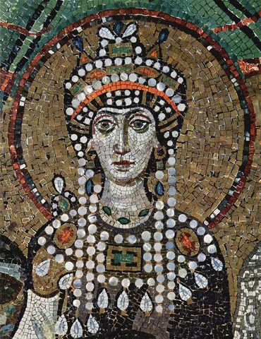Η Θεοδώρα γίνεται αυτοκράτειρα