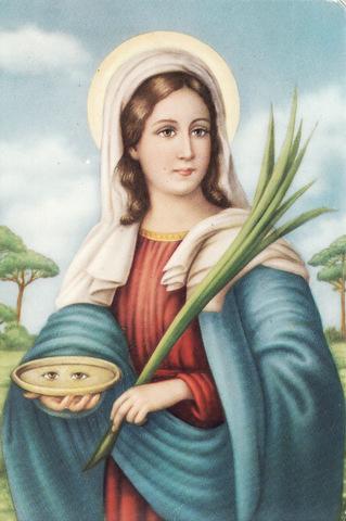 Santa Lucia led martyrdøden