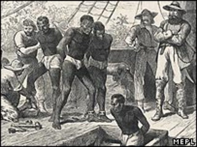 Slaves in England