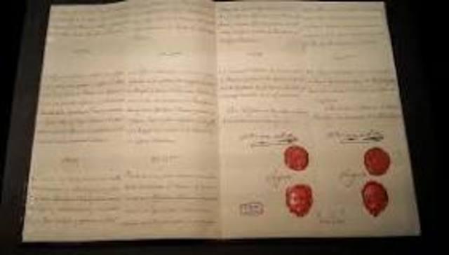 TRATADOS DE ILDEFONSO DE 1796
