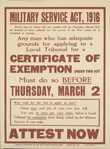 The Selective Service Act of 1917