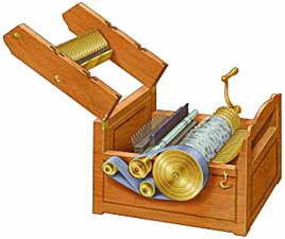 The cotton gin is created