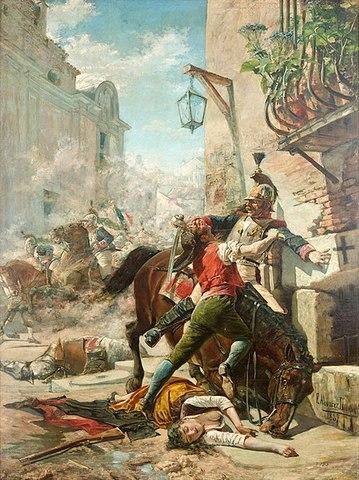 LEVANTAMIENTO DEL 2 DE MAYO DE 1808:
