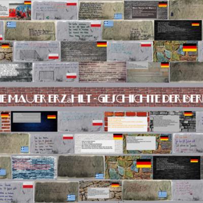 Geschichte der Berliner Mauer - 1983-1989 timeline