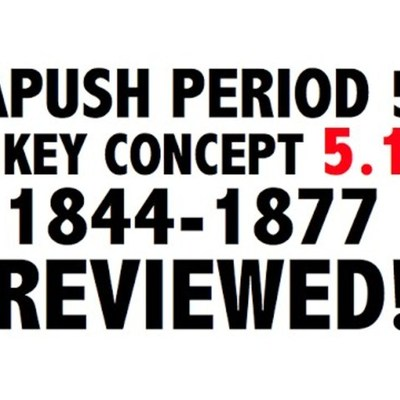 APUSH: Timetoast Timeline (Period 5)