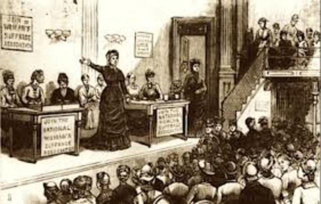 Women's Right convention at Seneca Falls