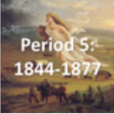 APUSH- Period 5 timeline