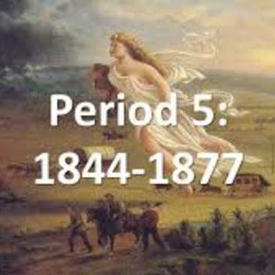 APUSH - Period 5 timeline