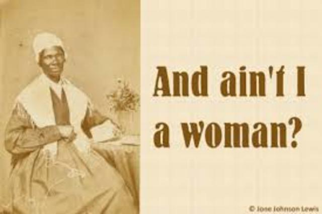 "Sojourner Truth Delivered her ""Ain't I a Woman"" Speech"