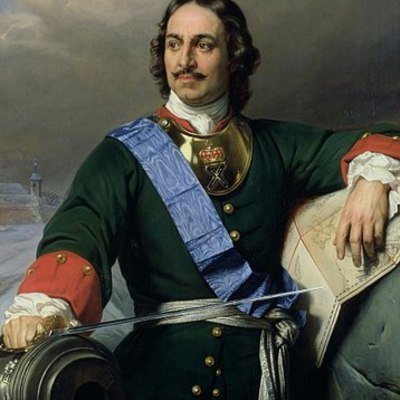Peter the Great's life timeline