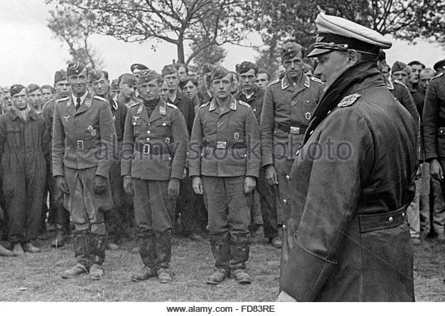 Drafted into German Army