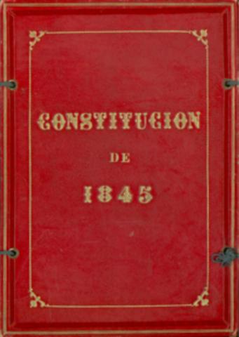 Década Moderada (Nueva Constitución)