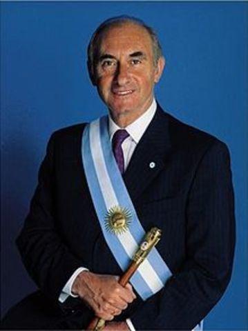 Election de Fernando de la Rùa