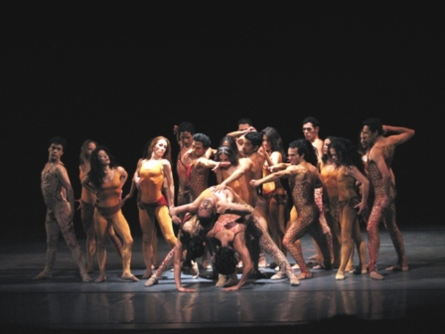 La première du ballet Le Sacre-Printemps de Stravinsky