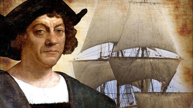 Columbus discovers American