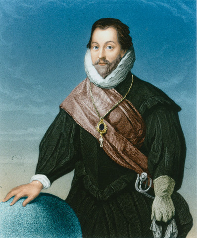 Sir Francis Drake sails to the west Indies