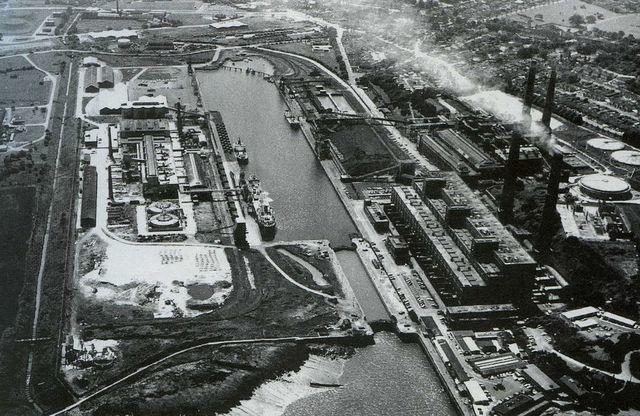 Portishead dock was built