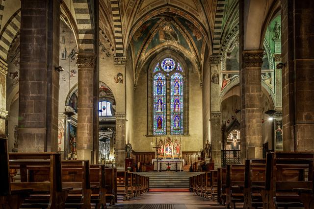 Santa Trinita: rifacimento gotico
