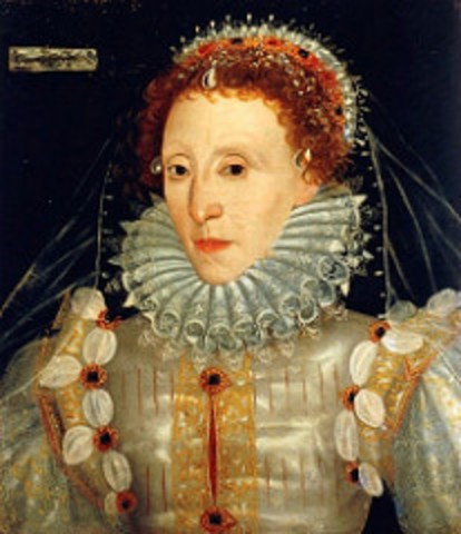 Elizabet been a queen i rules in England and Ireland