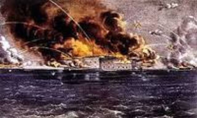 Firing on Fort Sumter