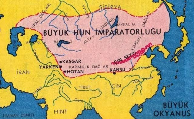 Büyük Hun İmparatorluğu son yıkılışı