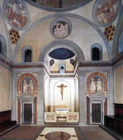 Brunelleschi inizia la SAGRESTIA VECCHIA