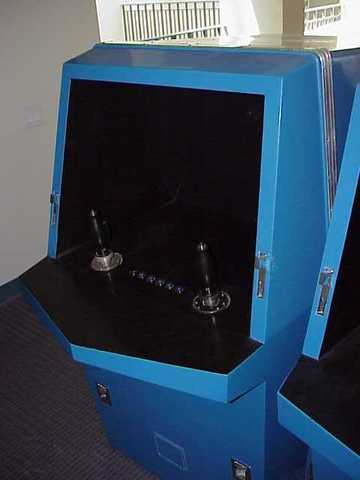 Two games emerged to the general public as a pair of the first US-made coin-operated arcade games.
