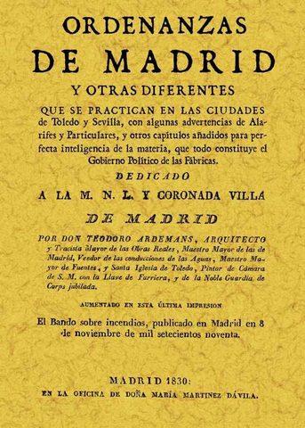 Ordenanzas de Madrid.