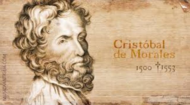 Cristóbal de Morales.